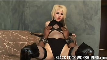 I need some big black cock inside me right now