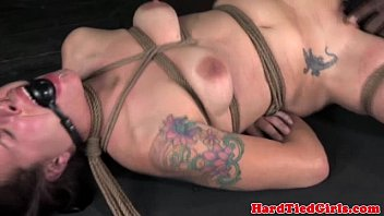 Orgasm denial to motivate submissive husband - Frog tied submissive in orgasm denial