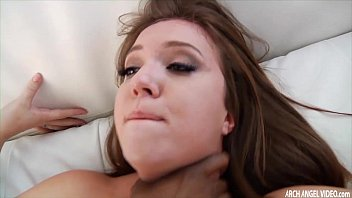 Beutiful babes with big ass Black dude ass fucks a chick and cums on her face