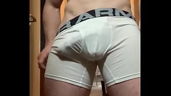 Under armour breast cancer headbands - My big hard cock bulging through my pants
