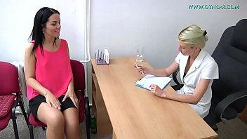 Vaginal exam in labor Vanessa 32 went to her gynecologist