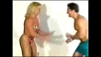 Youtube thumb wrestling Mixed wrestling with a strong fbb- youtube