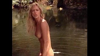 Latest celebrity nude Tanya roberts real nude sex scene from sheena