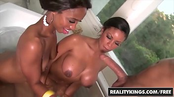 Bottom round steak grilling Realitykings - round and brown - jade nacole, sky banks, voodoo - bathing bootys