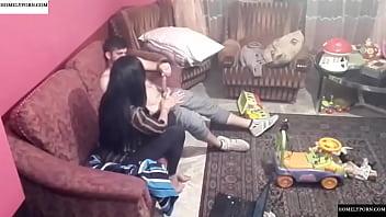 Spy camera records couple fucking in the living room. JAV245 Vorschaubild