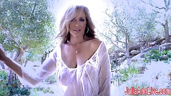 Sheer sexxy lingerie Superstar milf julia ann in sheer