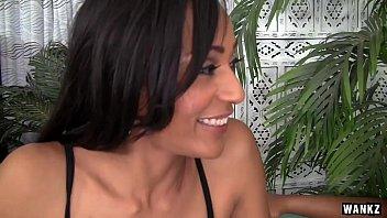 Sexy Lesbian Ebonies in Lingerie Make Sensual Love thumbnail