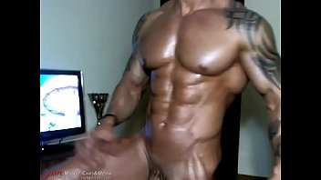 Gay black musclemen Tattoed warrior nsfw