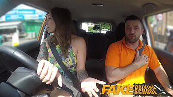 Contour thumb drive driver Fake driving school ava austen gets cum-pensation from max deeds cock