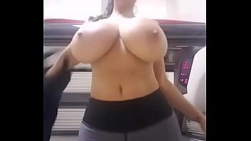 Big boobs pregnant  girl removing top - camstriphub.com