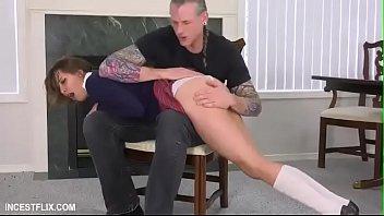 Zoey Laine-Slutty daughter punishment