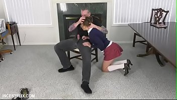 Zoey Laine-Slutty daughter punishment