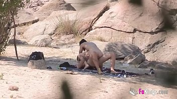 Nude hunk faked Jotade fucks an easy girl she just met near the beach