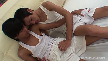 Asian Twinks Bird and Sim Bareback Fuck