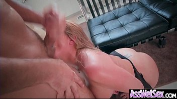 Deep Anal Sex With Oiled Big Curvy Butt Girl (Brooklyn Chase) vid-06