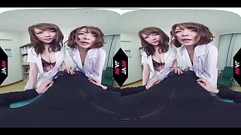 【AVVR】女医と女患者に襲われる筆おろし中出しSEX 麻里梨夏 共演 小西悠