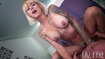 Sammie Six works Laz Fyre's fat cock pov Thumb