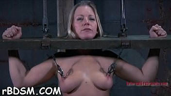 Dirty blonde woman is sex toy her erotic fanny