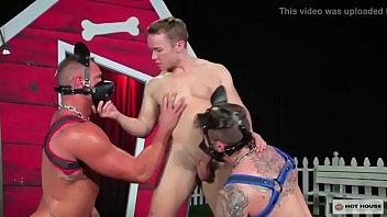 Gay dogging norfolk Stud gabriel cross getting a good fucking