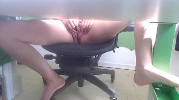 Can You Look For Something Under The Desk For Me  Please? :P