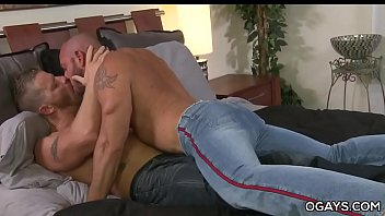 Hairy gay mature men - Muscular gay matures having fun