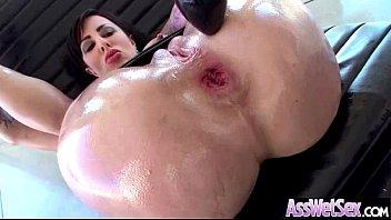 Anal Deep Hard Nailed A Big Curvy Huge Ass Oiled Girl (dollie darko) video-09