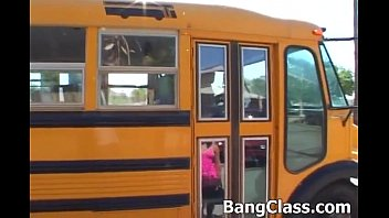 Girl fucked by teacher - School bus driver fucking teen girl