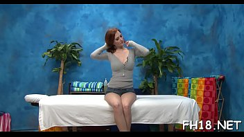 Hawt 18 year old gets drilled from behind hard by her massage therapist!