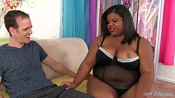 Pussy fat white - Chubby young black girl gets white cocked