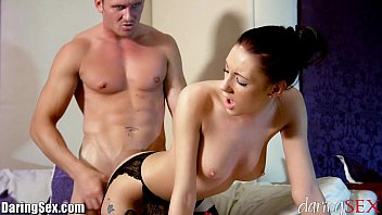 Jessica simpsom sey boobs Daringsex big tits brunette passionately fucked