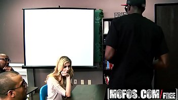 (Abigale Johnson) get schooled by some bbc - MOFOS