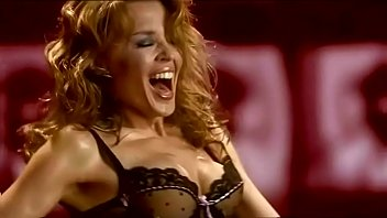 Kylie in lingerie - Kylie minogue agent provocateur extended version