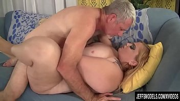 Bbw avone w Fat blonde babe sasha juggs is fucked hard by a horny guy