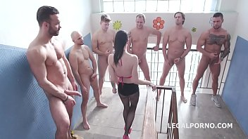 Drowned In Piss, Lydia Black 6On1 Insane Watersport With Manhandle, Balls Deep Anal, Dap, Gapes And Swallow Gio1285