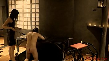 Cfnm femdom stories - Femdom whipping her sub in a dungeon - mistress kym
