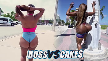 BANGBROS - Battle Of The GOATs: Victoria Cakes VS Yum Thee Boss (Vote In The Comments)