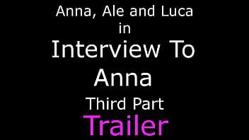 Interview To Anna Third Part - Foot Worship