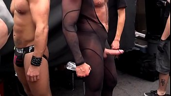 Seaseme street is gay Folsom street fair 2014-1