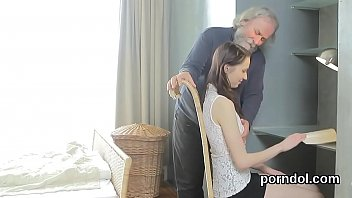 Cute schoolgirl was seduced and plowed by her older teacher
