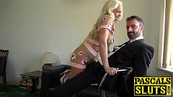 Bombshell Cindy Sun teasing before anal domination thumbnail