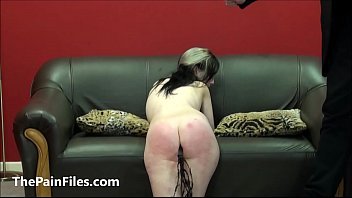 Brutal blowjob and spanking of oral sex slave Faye Corbin in rough domination and kinky homemade bdsm of sadist and masochist couple in fetishsex