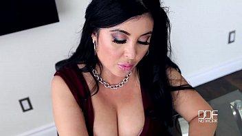 America vs Russia-Big Titty Business Girl Jaylene Rio gets Drilled Hard