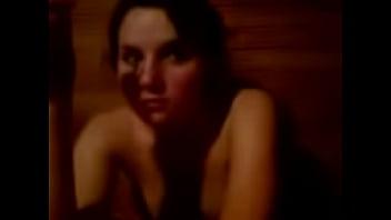 Helg and friend on sauna