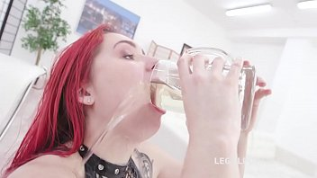 Lesbian pee fetisch trailer Fucking wet beer festival with stella paint 4on1 balls deep dp, pee drink and swallow gio1399