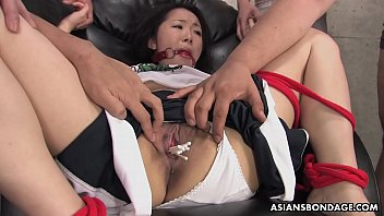 Bondage hose japanese pantie Sweet ai mizushima is getting stuffed with a huge dildo