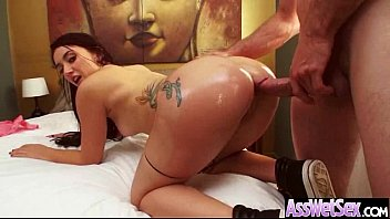 Big Butt Girl (mandy muse) Get Oiled And Anal Hardcore Nailed clip-24