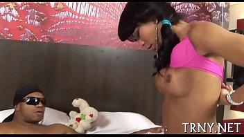 Nice big tranny dick stroked - tgirlcams.net