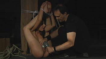 Brunette slave is under Master's disposal