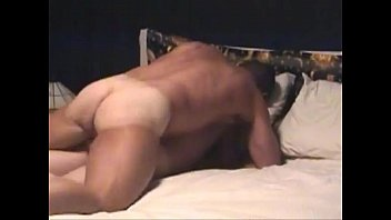 Dilf pampering himself with a soothing fuck