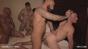 Canary islands gay resorts - Timfuck saxon west 7-man gangbang with cumshots